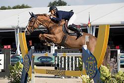 Daigneux-Lange Fabienne, (BEL), Venue D Fees Des Hazalles<br /> Belgisch Kampioenschap Springen - Lanaken 2016<br /> © Hippo Foto - Dirk Caremans<br /> 14/09/16