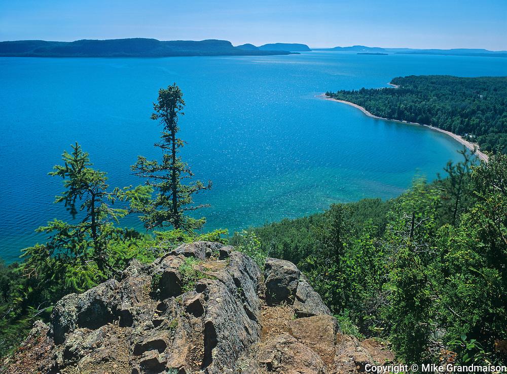 Lake Superior at Kama Bay (Kama Point)<br /> East of Nipigon<br /> Ontario<br /> Canada