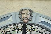 Detail an Torbogen, Buchen, Odenwald, Naturpark Bergstraße-Odenwald, Baden-Württemberg, Deutschland | detail on gate, Buchen, Odenwald, Baden-Wuerttemberg Germany