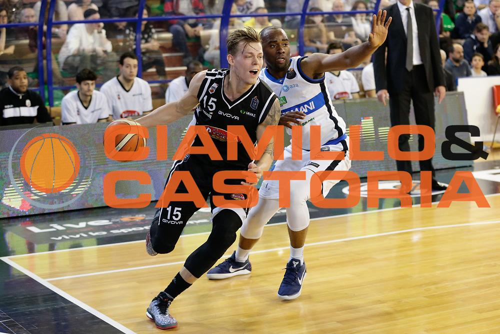 Gaddefors Viktor<br /> Germani Basket Brescia Leonessa - Pasta Reggia Juve Caserta<br /> Lega Basket Serie A 2016/2017<br /> Montichiari, 02/04/2017<br /> Foto Ciamillo-Castoria / M. Brondi