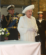 "QUEEN'S JUBILEE PAGEANT.Her Majesty The Queen and Duke of Edinburgh recieving a Royal Salute from the Royal Guard at HMS President..London. 03/06/2012.Mandatory Credit Photo: ©B Sutton/NEWSPIX INTERNATIONAL..**ALL FEES PAYABLE TO: ""NEWSPIX INTERNATIONAL""**..IMMEDIATE CONFIRMATION OF USAGE REQUIRED:.Newspix International, 31 Chinnery Hill, Bishop's Stortford, ENGLAND CM23 3PS.Tel:+441279 324672  ; Fax: +441279656877.Mobile:  07775681153.e-mail: info@newspixinternational.co.uk"