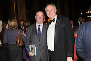 STEPHEN HILL; WILLIAM CASH, Celebration of the  200TH Anniversary of the  Birth of Rt.Hon. John Bright MP  and the publication of <br /> ÔJohn Bright: Statesman, Orator, AgitatorÕ by Bill Cash MP. Reform Club. London. 14 November 2011. <br /> <br />  , -DO NOT ARCHIVE-© Copyright Photograph by Dafydd Jones. 248 Clapham Rd. London SW9 0PZ. Tel 0207 820 0771. www.dafjones.com.<br /> STEPHEN HILL; WILLIAM CASH, Celebration of the  200TH Anniversary of the  Birth of Rt.Hon. John Bright MP  and the publication of <br /> 'John Bright: Statesman, Orator, Agitator' by Bill Cash MP. Reform Club. London. 14 November 2011. <br /> <br />  , -DO NOT ARCHIVE-© Copyright Photograph by Dafydd Jones. 248 Clapham Rd. London SW9 0PZ. Tel 0207 820 0771. www.dafjones.com.