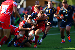 Worcester Warriors v Leicester Tigers - Mandatory by-line: Dougie Allward/JMP - 21/09/2019 - RUGBY - Sixways Stadium - Worcester, England - Worcester Warriors v Leicester Tigers - Premiership Rugby Cup