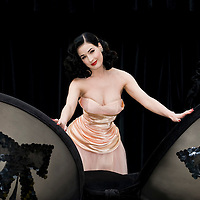 "Edinburgh Sep 23 - Dita Von Teese launches ""Wonderbra by Dita Von Teese"" at the Covent Garden Piazza, Covent Garden in London, on September 23rd"