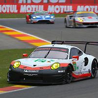 #91, Porsche Motorsport, Porsche 911 RSR (2017), driven by, Richard Lietz, Frederic Makowiecki, FIA WEC 6hrs of Spa 2017, 05/05/2017,