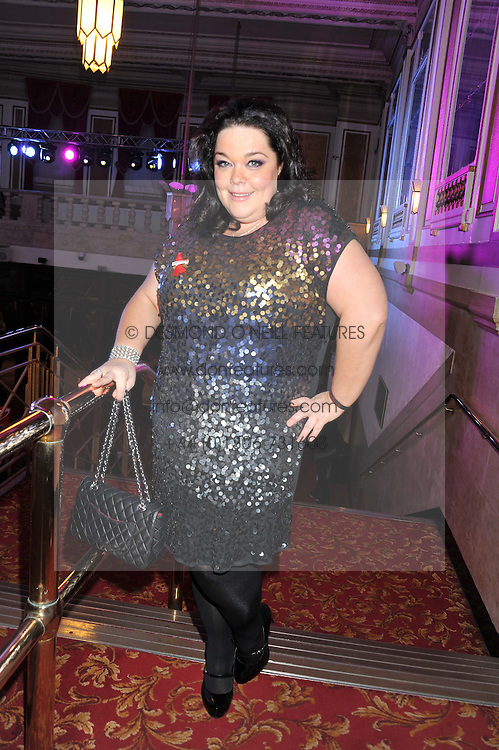 LISA RILEY at West End Eurovision 2013 held at the  Dominion Theatre, London on 23rd May 2013.