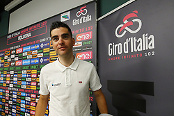 Foto Filippo Rubin/LaPresse <br /> 09 maggio 2019 Bologna (Italia)<br /> Sport Ciclismo<br /> Giro d'Italia 2019 - edizione 102 - Conferenza Stampa Team.<br /> Nella foto: AG2R.GALLOPIN Tony, <br /> Photo Filippo Rubin/LaPresse<br /> May 09, 2019  Bologna (Italy)  <br /> Sport Cycling<br /> Giro d'Italia 2019 - 102th edition - Team Press Conference .<br /> In the pic: AG2R.GALLOPIN Tony