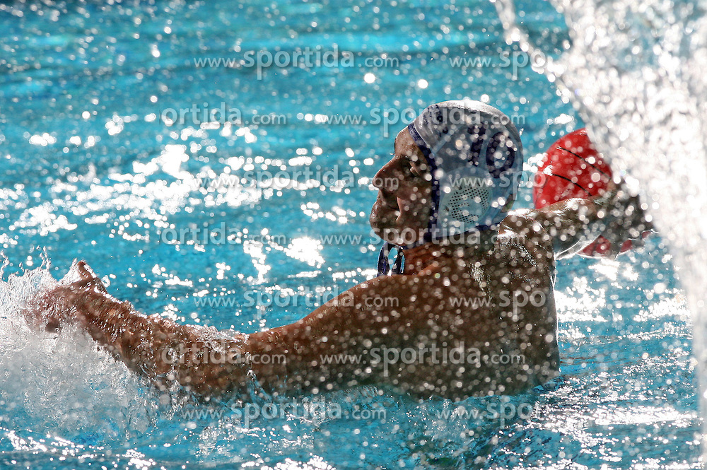 Sandi Mertelj  of Rokava Koper  at water polo match Rokava Koper, Slovenia vs ASV Wien, Austria in  quarterfinal of International water polo Alpe Adria league in Kranj, Slovenia, on March 7, 2008.  (Photo by: Vid Ponikvar / Sportal Images)/ Sportida)