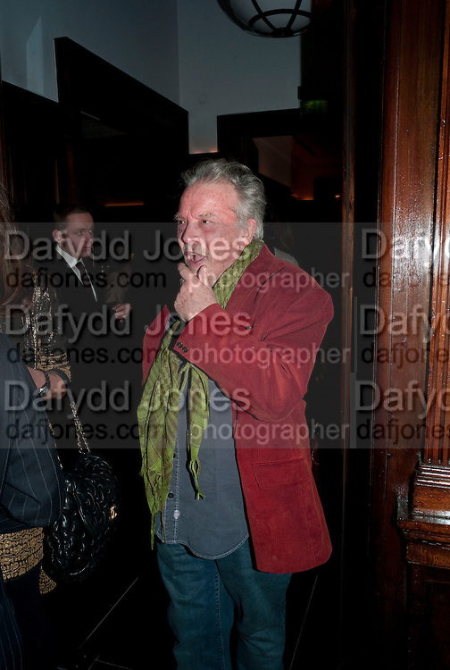 DAVID BAILEY, Graydon and Anna Carter host a lunch for Carolina Herrera to celebrate the ipening of her new shop on Mount St. .The Connaught. London. 20 January 2010