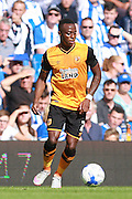 Hull City midfielder Moses Odubajo during the Sky Bet Championship match between Brighton and Hove Albion and Hull City at the American Express Community Stadium, Brighton and Hove, England on 12 September 2015. Photo by Bennett Dean.