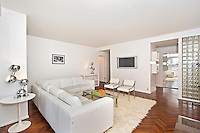 Living Room at 216 East 47th Street