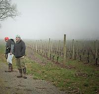 Farm workers at Stoller Vineyards in Dayton, Oregon.