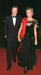 The MARQUESS & MARCHIONESS OF DOURO at an exhibition in London on 1st October 1997.MBU 48