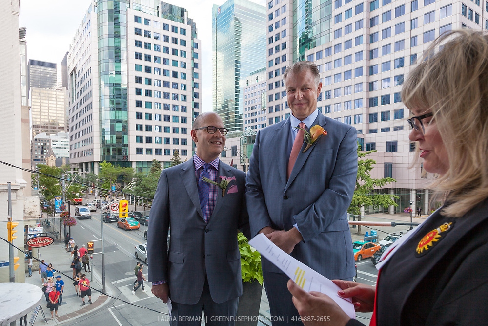 Stephen Quinney and Bernard Kwasniewski's Wedding
