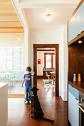 The Zuckerman Family's modern addition to their 1920s Bungalow home in Boise, ID. Shot for Dwell