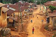 The small town of Bekwai in Ghana's Ashanti region.