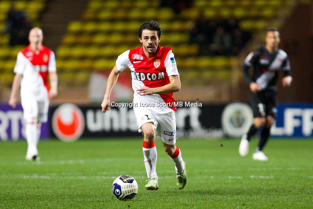 Bernardo SILVA  - 14.01.2015 - Monaco / Guingamp - 1/4Finale Coupe de la Ligue<br /> Photo : Jean Christophe Magnenet / Icon Sport