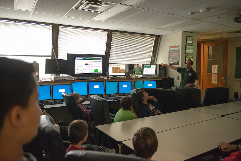 Nelsonville-York Elementary fifth-graders will be visiting the Athens Campus where they will be treated to presentations and hands-on activities regarding weather by Dr, Ryan Fogt and Ohio University Meteorology students. Photo by Ben Siegel