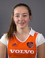 AMSTELVEEN - RENEE VAN LAARHOVEN, Nederlands Meisjes B hockey. Foto KOEN SUYK