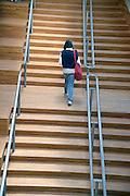 Nederland, Arnhem 7-6-2013 Het nieuwe kenniscluster, kunstcentrum Rozet, ontworpen door Neutelings Riedijk, in het centrum van Arnhem. Moba, de modebiennale 2013 is de eerste activiteit in dit nieuwe gebouw. Het huisvest de bibliotheek, het historisch museum, kunstbedrijf en de volksuniversiteit .Foto: Flip Franssen/Hollandse Hoogte
