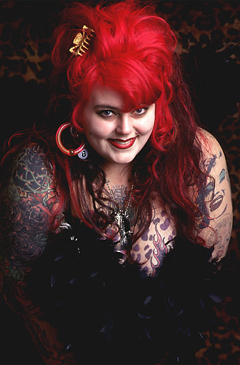 Seattle-based tattoo artist Majenta