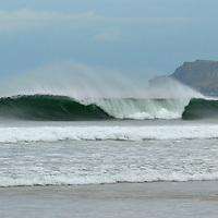 do you wanna go left or right, whiterocks beach Portrush County Antrim, N.Ireland.