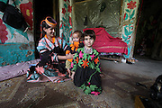 For Tamil Gul, it is important that her children attend school which is not common in the Kalash Valley. She stitches cloths for locals and whatever she earns, she puts in her children's education.