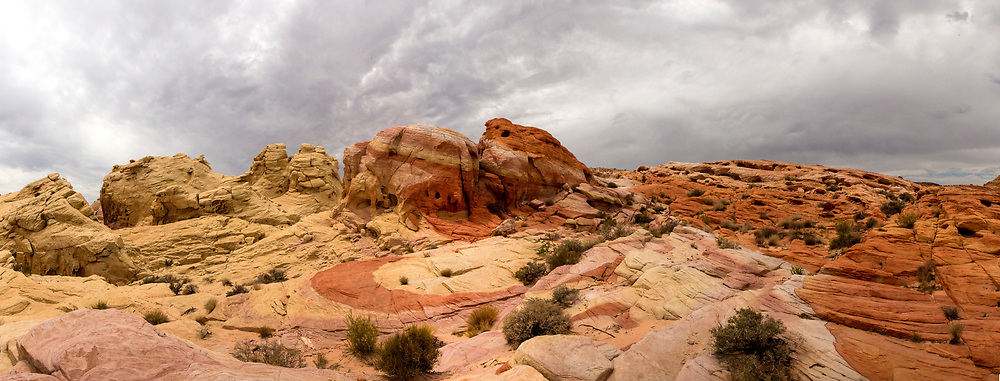 The vibrant sandstone of Valley Of Fire State Park in Nevada