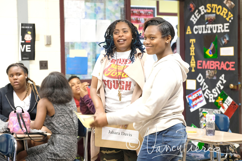 2018 LIFT Learning Community Teacher of the Year Jahara Davis  (English)