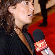 NLD/Amsterdam/20061020 - Uitreiking Televierzierring 2006, Dione de Graaff