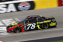 September 14, 2018 - Las Vegas, Nevada, United States of America - Martin Truex, Jr (78) brings his race car down the front stretch during practice for the South Point 400 at Las Vegas Motor Speedway in Las Vegas, Nevada. (Credit Image: © Chris Owens Asp Inc/ASP via ZUMA Wire)