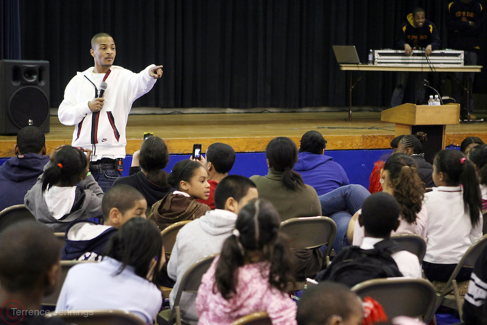 "T.I. at The Kips Bay Boys & Girls Club to join VIBE Magazine and VIBE Editor-in-Chief, Danyel Smith as a special guest to address the Kips Bay Boys & Girls Club about the value of an education and avoiding the pitfalls he's made. ..In an extensive article in the April issue titled ""Cell Therapy,"" VIBE Senior Editor Benjamin Meadows-Ingram chronicles the superstar's history-making legal battle and gut-wrenching journey since his 2007 arrest related to illegal gun possession and attempt to purchase more unregistered weapons following his BET Hip Hop Awards performance rehearsal."