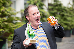 Repro Free: 14/10/2014 Padraig Fahy of Beechlawn Organic Farm, Galway was awarded 'Best new Product' for his Organic Sun Gold Orange Cherry Tomatoes at the National Organic Awards held in Bord Bia's Dublin headquarters. Over 80 industry representatives gathered for the event which rewards quality and excellence within the Irish organic sector across categories including direct selling, innovation and export.  Picture Andres Poveda