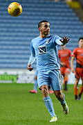 Coventry City defender Rod McDonald (5) 3-2 during the EFL Sky Bet League 2 match between Coventry City and Wycombe Wanderers at the Ricoh Arena, Coventry, England on 22 December 2017. Photo by Alan Franklin.