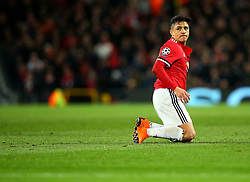 Alexis Sanchez of Manchester United cuts a frustrated figure - Mandatory by-line: Robbie Stephenson/JMP - 13/03/2018 - FOOTBALL - Old Trafford - Manchester, England - Manchester United v Sevilla - UEFA Champions League Round of 16 2nd Leg