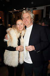 SIR FRANK LOWE and MARTINA LEWIS at a party to celebrate 25 years of the David Linley store , 60 Pimlico Road, London on 16th November 2010.