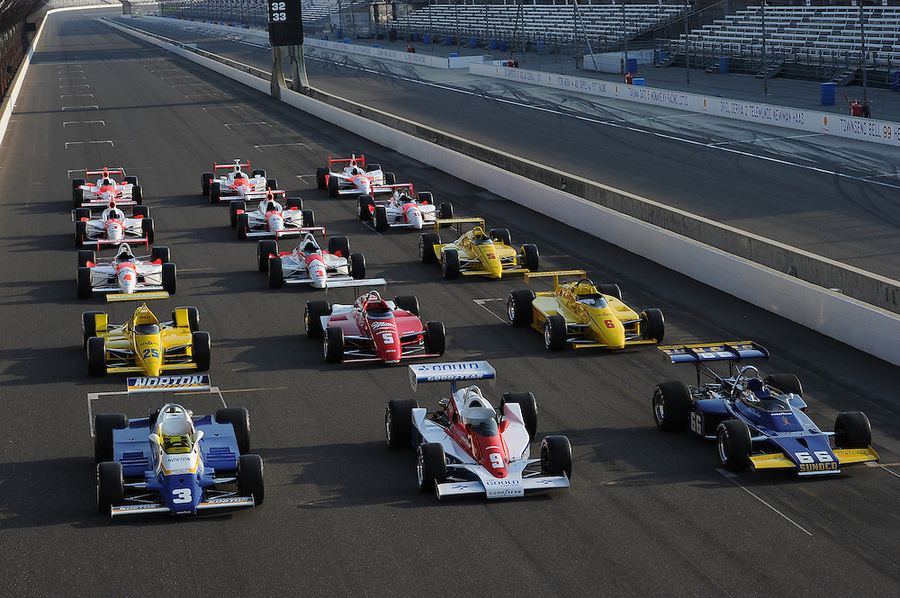 Roger Penske Indianapolis 500 winning cars, Indianapolis Motor Speedway, Indianapolis, IN USA 5/31/2011