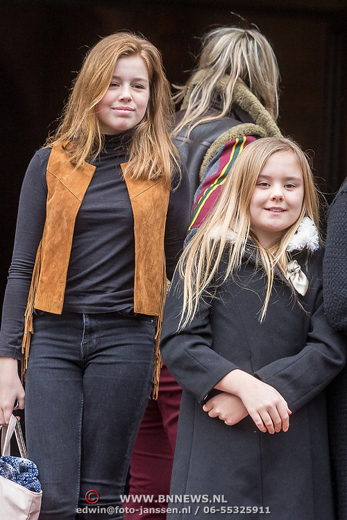 NLD/Amsterdam/20180203 - 80ste Verjaardag Pr. Beatrix, Prinses Alexia , Prinses Ariane