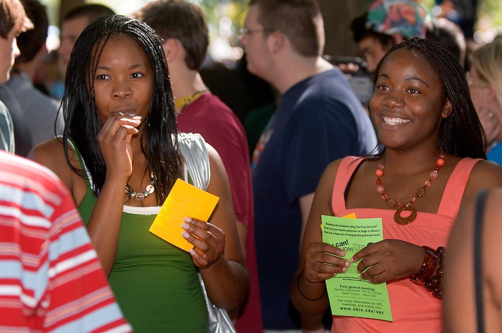 18356The Freshman Convocation 9/03/2007....Chidera Nwaokafor & Stephanie Ilodi