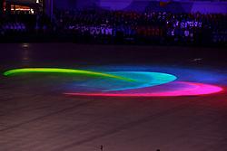 Opening Ceremony at the PyeongChang2018 Winter Paralympic Games.<br /> Cérémonie d'ouverture au Jeux Paralympiques, PyeongChang2018.