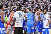 DESCRIZIONE : Campionato 2014/15 Serie A Beko Dinamo Banco di Sardegna Sassari - Grissin Bon Reggio Emilia Finale Playoff Gara4<br /> GIOCATORE : Team Dinamo Sassari<br /> CATEGORIA : Fair Play Postgame<br /> SQUADRA : Dinamo Banco di Sardegna Sassari<br /> EVENTO : LegaBasket Serie A Beko 2014/2015<br /> GARA : Dinamo Banco di Sardegna Sassari - Grissin Bon Reggio Emilia Finale Playoff Gara4<br /> DATA : 20/06/2015<br /> SPORT : Pallacanestro <br /> AUTORE : Agenzia Ciamillo-Castoria/L.Canu
