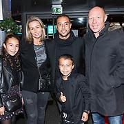 NLD/Amsterdam/20181211 - BN'ers bij Nikki in Concert, Denny Landzaat met zijn gezin