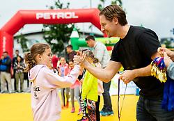 Miha Rakar, Igrajmo tenis, teniski dogodek za promocijo tenisa med otroki, on May 18, 2019, in BTC, Ljubljana, Slovenia. Photo by Vid Ponikvar / Sportida