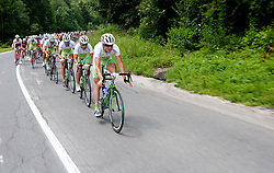 Team Perutnina Ptuj during 3rd Stage Trzic - Golte (170,6 km) at 18th Tour de Slovenie 2011, on June 17, 2011, in Slovenia. (Photo by Vid Ponikvar / Sportida)