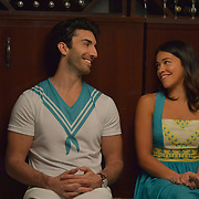 "Jane The Virgin -- ""Chapter Seventy-Four"" -- Image Number: JAV410b_0213.jpg -- Pictured (L-R): Justin Baldoni as Rafael and Gina Rodriguez as Jane -- Photo: Lisa Rose/The CW -- © 2018 The CW Network, LLC. All Rights Reserved."