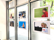 Poland, Cracow - 2017 June 28: Photo Exhibition Big Blue by © Adam Nurkiewicz at Think Tank section in Proclub Store on June 28, 2017 in Cracow, Poland.<br /> <br /> Mandatory credit:<br /> Photo by © Adam Nurkiewicz<br /> <br /> Adam Nurkiewicz declares that he has no rights to the image of people at the photographs of his authorship.<br /> <br /> Picture also available in RAW (NEF) or TIFF format on special request.<br /> <br /> Any editorial, commercial or promotional use requires written permission from the author of image.
