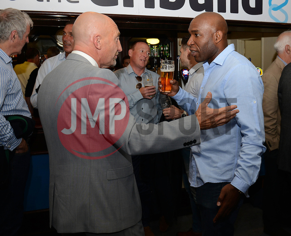 Ian Holloway and Barry Hayles - Mandatory byline: Dougie Allward/JMP - 07966386802 - 31/07/2015 - FOOTBALL - Memorial Stadium -Bristol,England - Bristol Rovers v West Brom - Phil Kite Testimonial Match