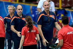 28-09-2014 ITA: World Championship Volleyball Mexico - Nederland, Verona<br /> Nederland wint met 3-0 van Mexico / Ron Zwerver