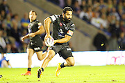 Patrick Ah Vanfor Widnes during the Super League match between Warrington Wolves and Widnes Vikings at the Haliwell Jones Stadium, Warrington, United Kingdom on 9 September 2016. Photo by Craig Galloway.