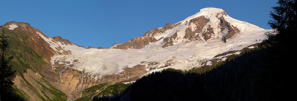 Mt. Baker, Panorama, Glacier Creek